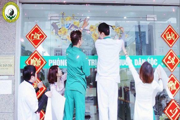 Không khí đón tết tại Trung tâm Nghiên cứu và Ứng dụng Thuốc dân tộc