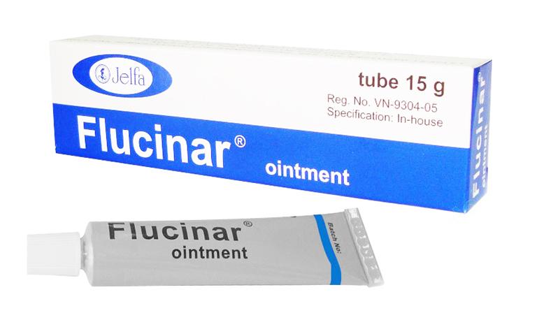 Thuốc Flucinar Ointment 15g: Thành phần, công dụng và tác dụng phụ