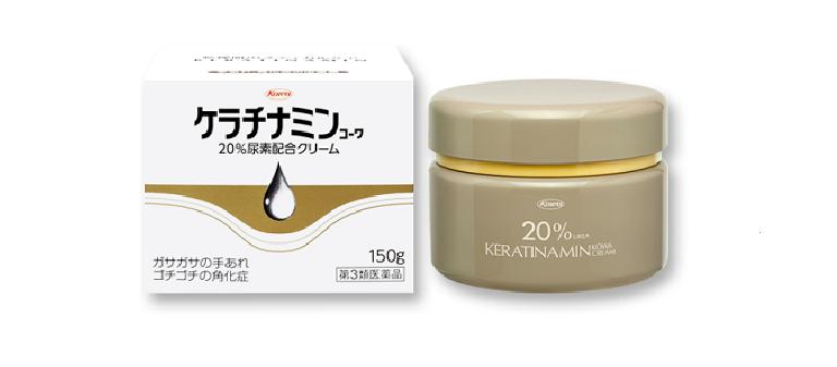 kem Keratinamin Kowa Cream