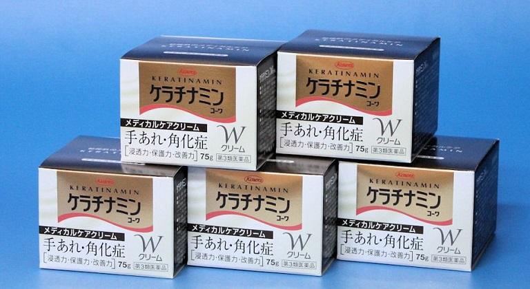 lưu ý khi sử dụng kemKeratinamin Kowa Cream