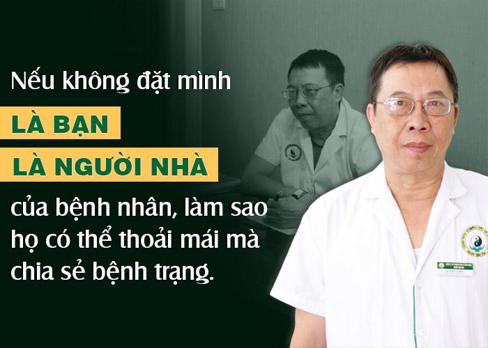 Những chia sẻ chân thành của bác sĩ Tuấn về nghề