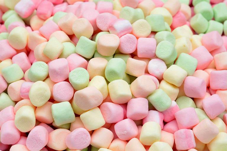 Kẹo dẻo Marshmallows gây dị ứng