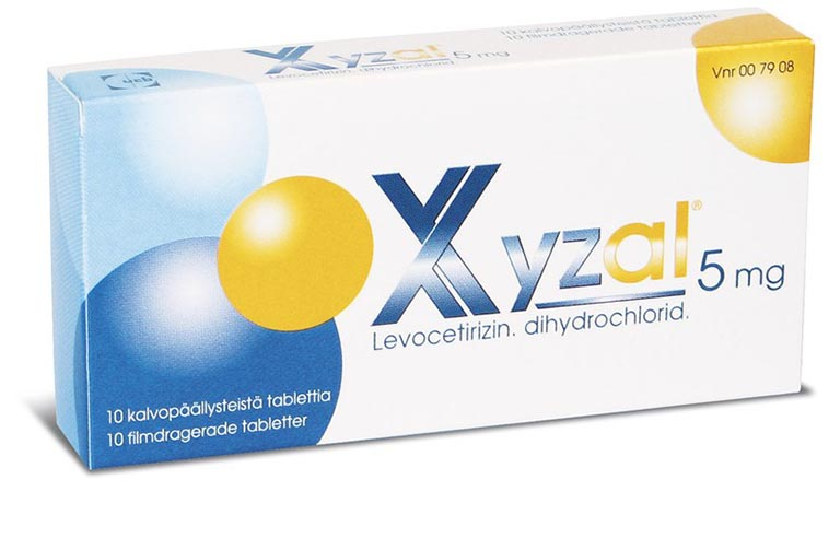 Xyzal 5mg - Thành phần, công dụng là lưu ý khi dùng