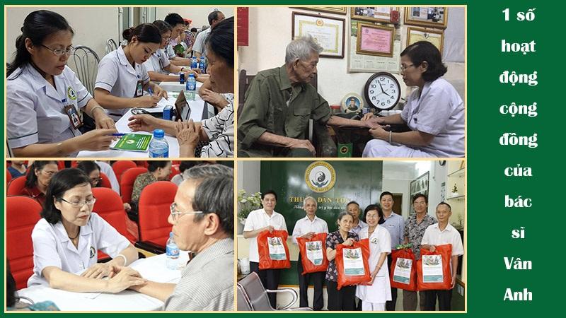 Bác sĩ Nguyễn Thị Vân Anh và tấm lòng nhân hậu