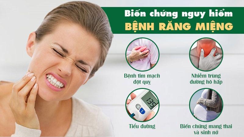 Biến chứng của bệnh răng miệng