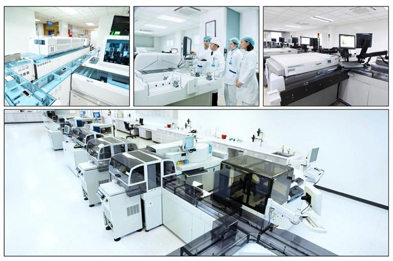 Cơ sở vật chất tại Bệnh viện Đa khoa Medlatec