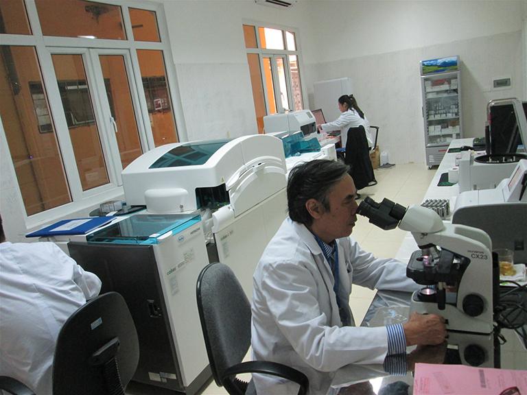 Cơ sở vật chất tại Bệnh viện Phổi Trung ương