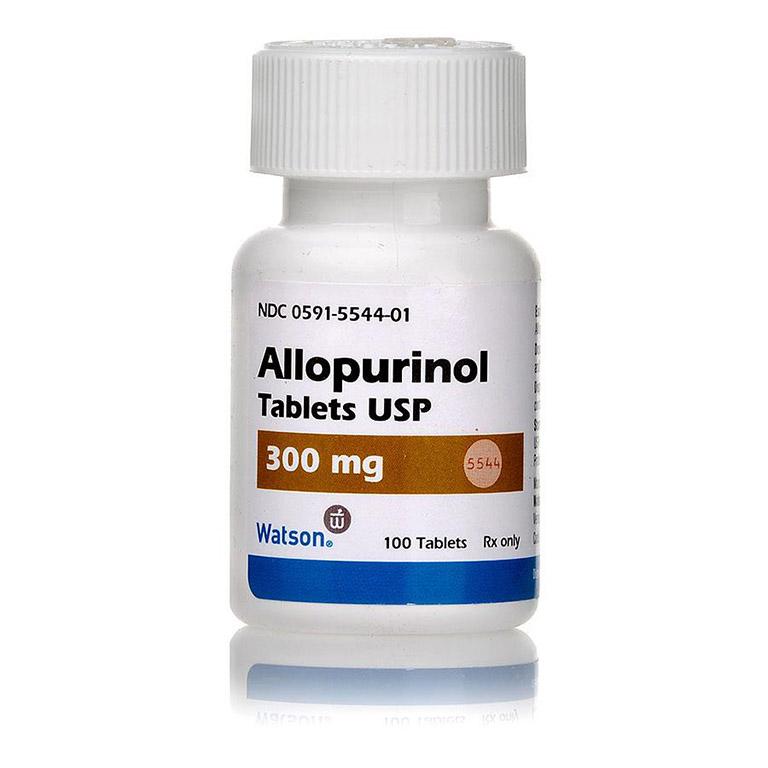 dùng allopurinol giúp nồng độ acid uric giảm