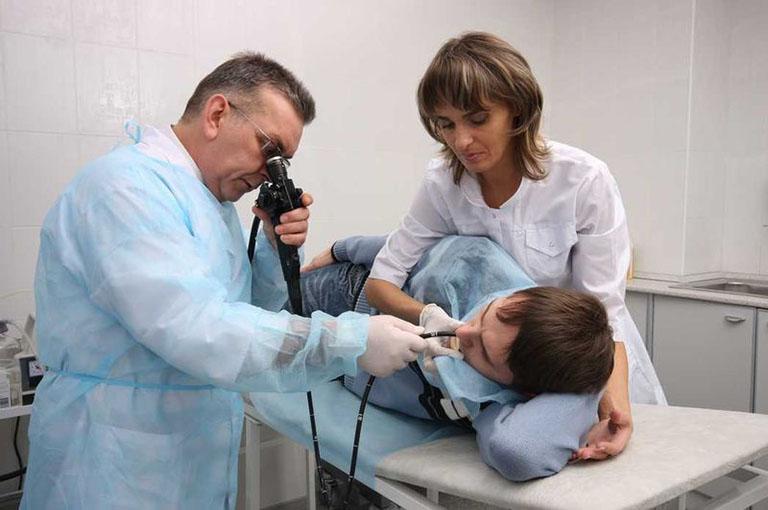 Chẩn đoán polyp mũi