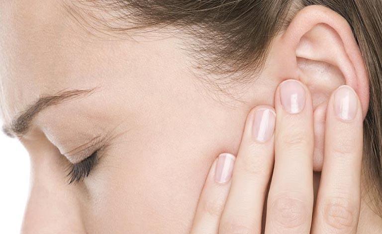 chảy mủ tai