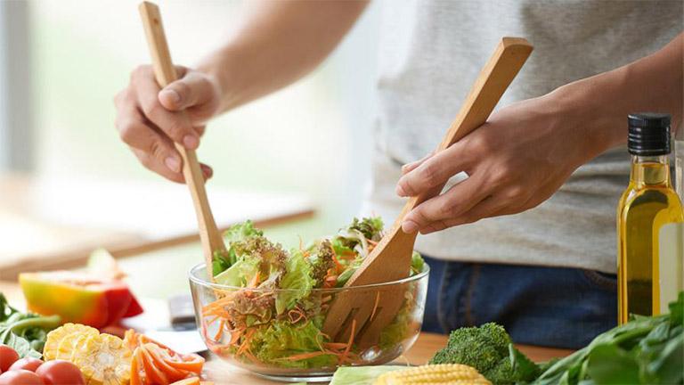 chế độ ăn uống cho nam giới