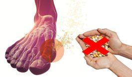Chữa bệnh gout không cần dùng thuốc