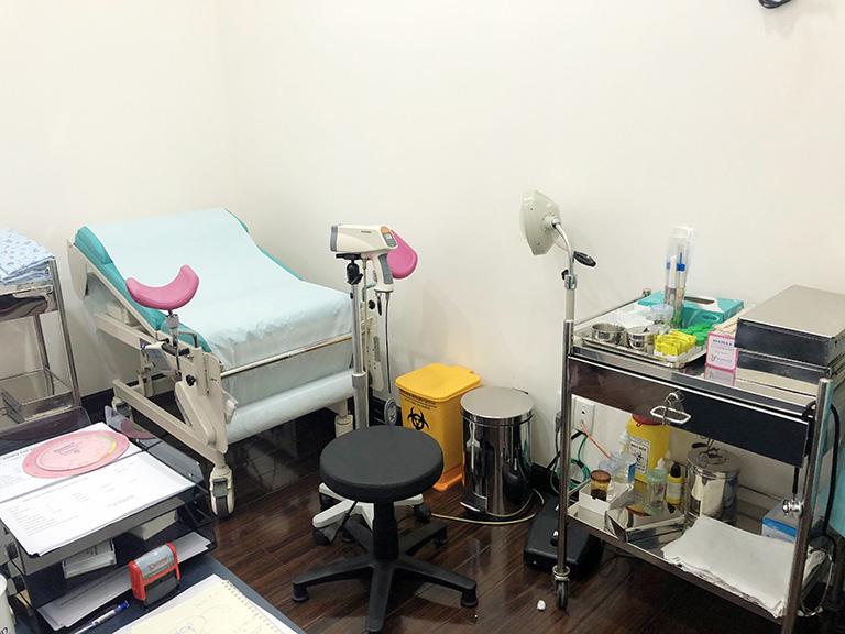 Phòng khám phụ khoa trung tâm y khoa Diamond