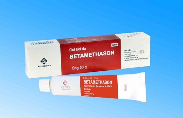 thông tin về Betamethason dạng gel