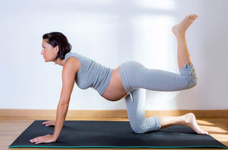 cải thiện đau khớp háng khi mang thai