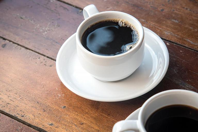 dị ứng cà phê