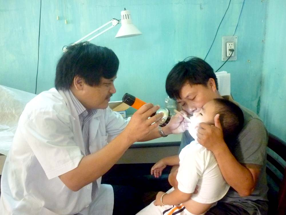 điều trị dị ứng ở trẻ em