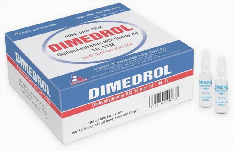 thuốc kháng dị ứng dimedrol