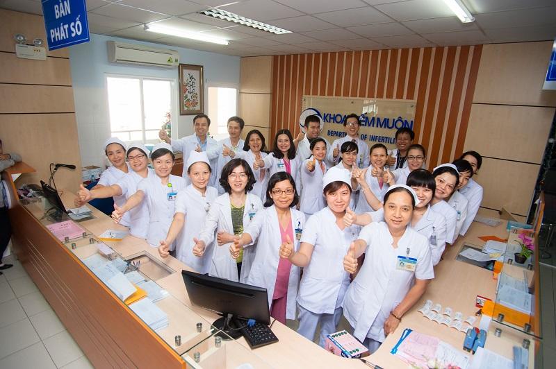 Đội ngũ bác sĩ bệnh viện Từ Dũ