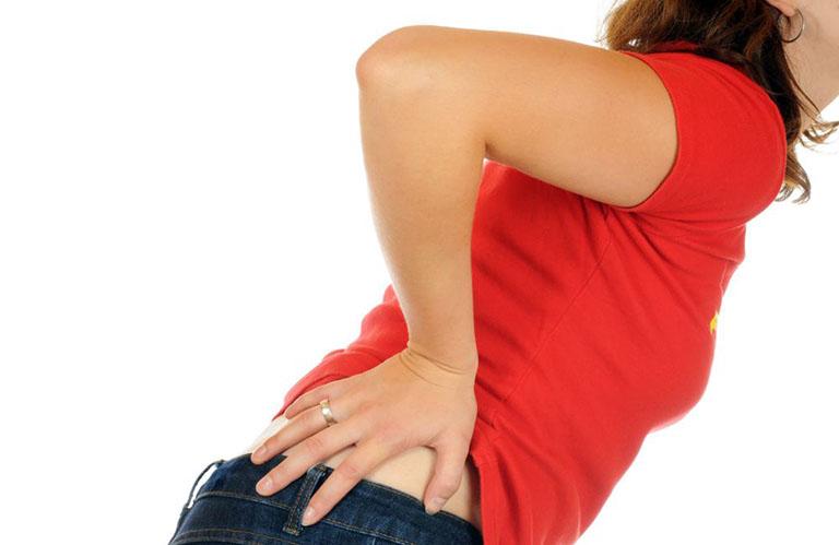 giảm đau khớp háng sau sinh