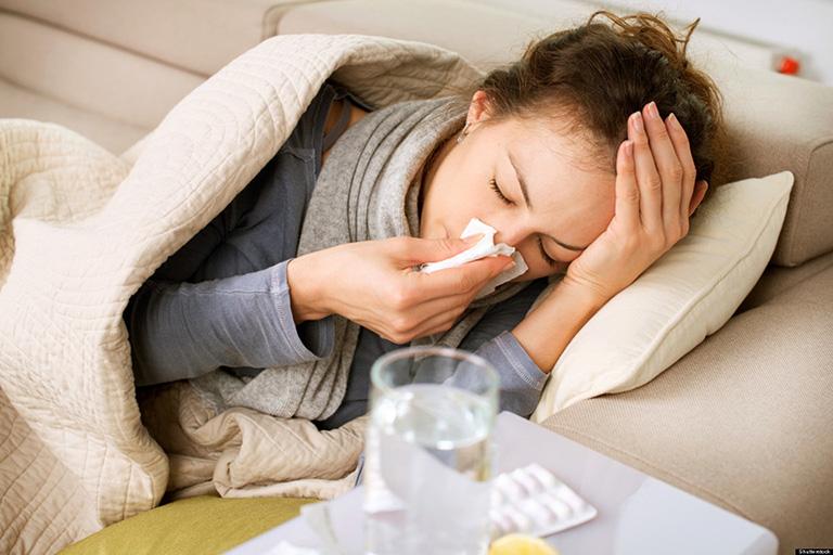 khắc phục nghẹt mũi khi ngủ