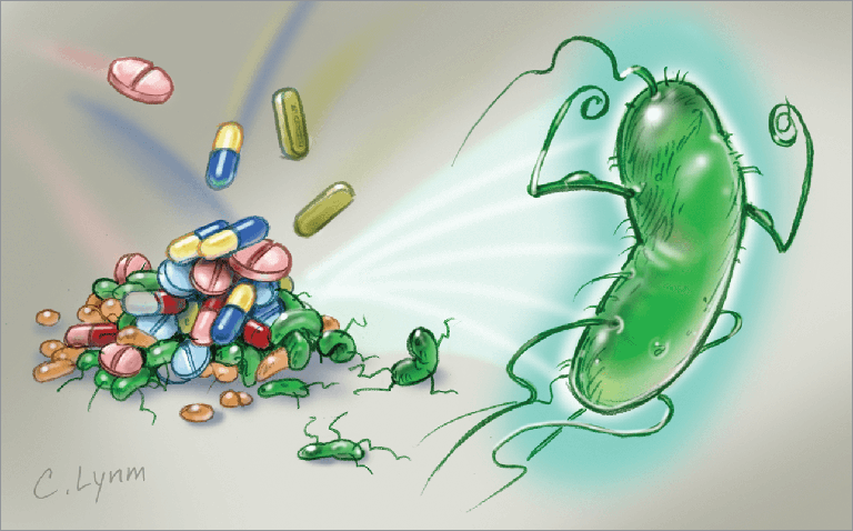 kháng thuốc kháng sinh