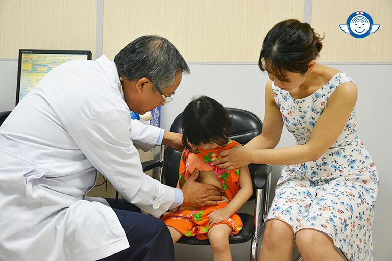 Khoa Nhi bệnh viện Tai Mũi Họng Sài Gòn