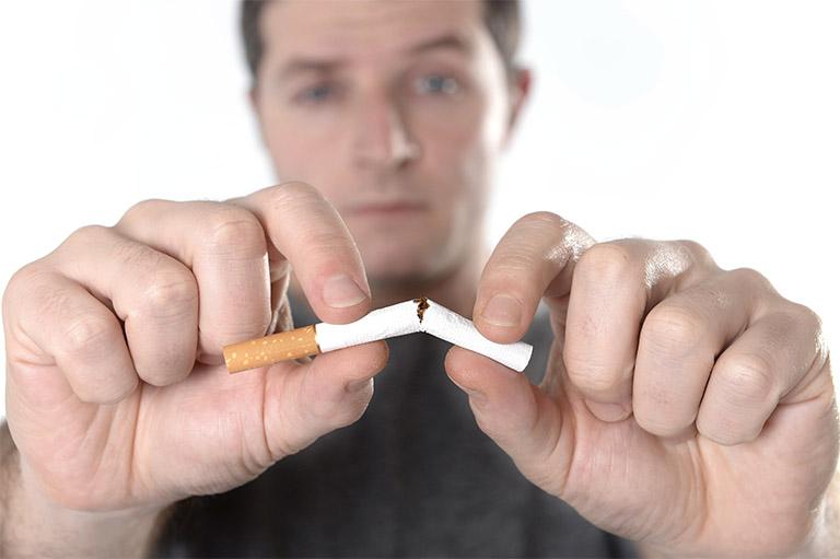 không hút thuốc