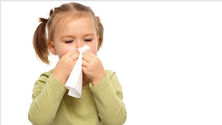 Nghẹt mũi ở trẻ em