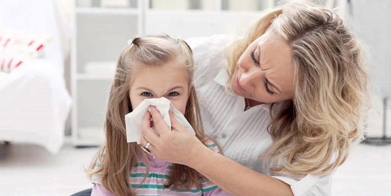 Nguyên nhân gây viêm mũi dị ứng ở trẻ em