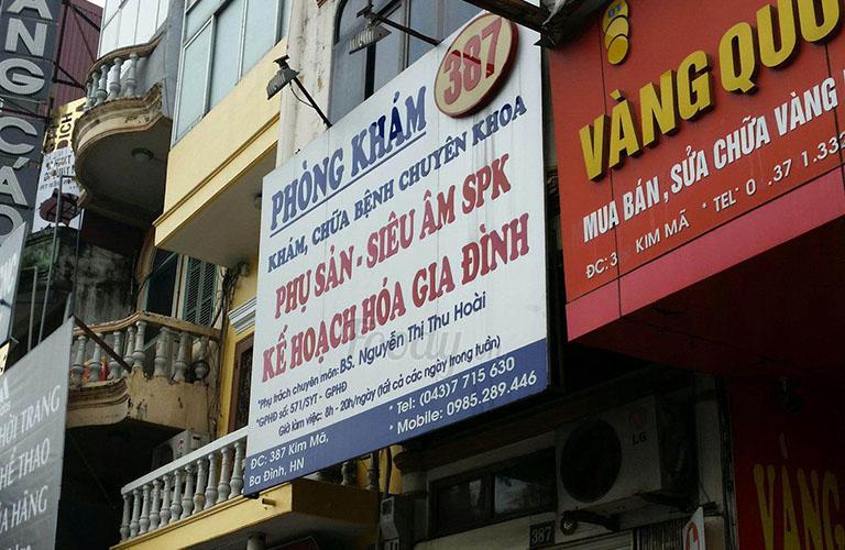 phòng khám 387 Kim Mã