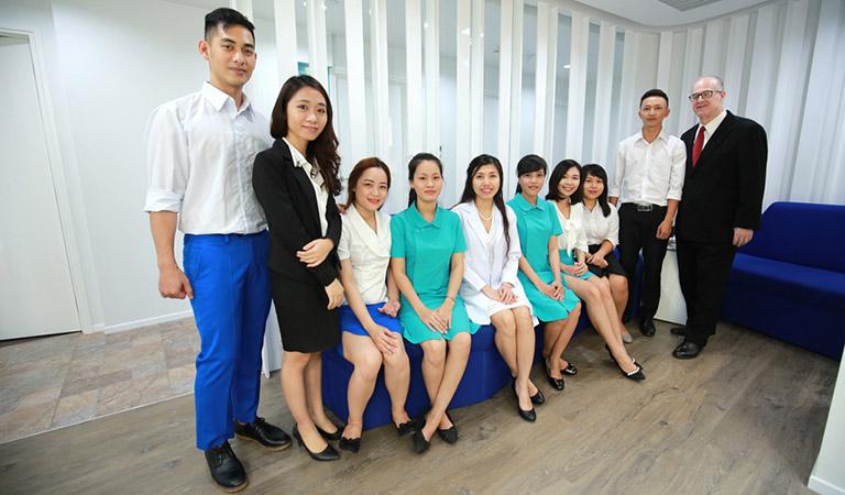đội ngũ bác sĩ Grace Skincare Clinic