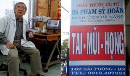 phòng khàm của bác sĩ Phạm Sỹ Hoãn