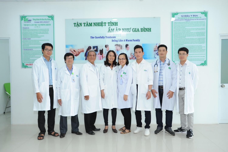 Đội ngũ bác sĩ tại phòng khám đa khoa Duy Khang