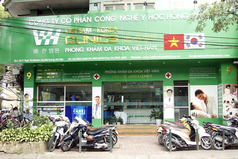 phòng khám đa khoa Việt Hàn