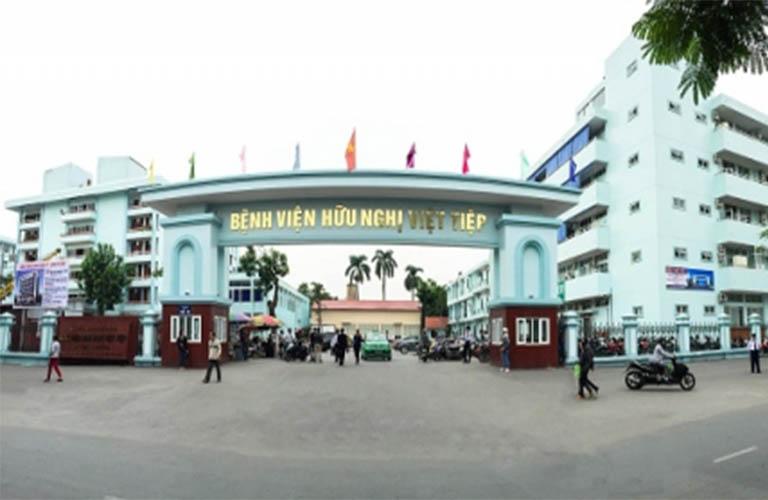 Bệnh viện Việt Tiệp Hải Phòng - khoa da liễu bệnh viện việt tiệp hải phòng - trung tâm da liễu hải phòng