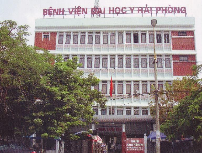 Bệnh viện Đại học Y Hải Phòng - bệnh viện da liễu hải phòng