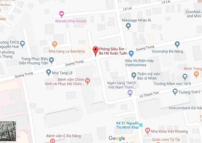 phòng siêu âm bác sĩ Hồ Xuân Tuấn