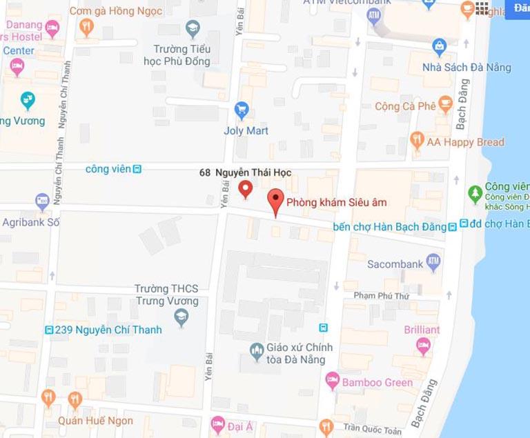 các dịch vụ khám và siêu âm tại phòng khám 68 Nguyễn Thái Học