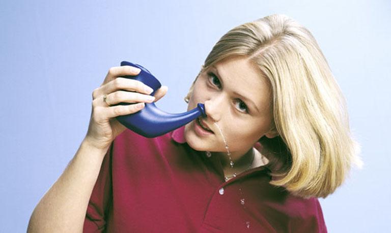 rửa mũi phòng bệnh