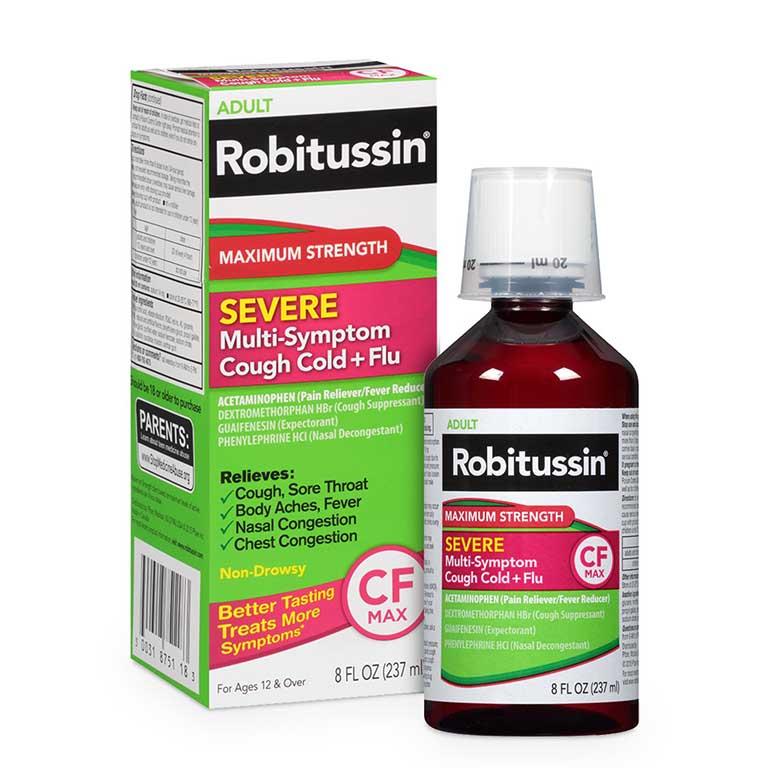 Tác dụng của thuốc Robitussin