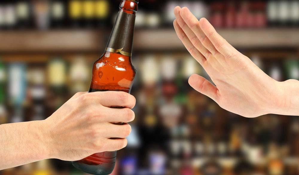 nói không với bia rượu