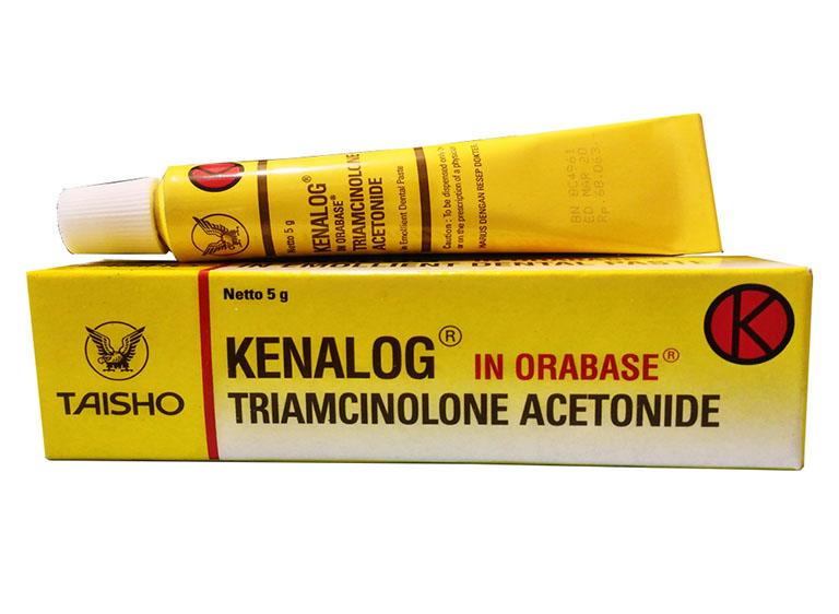 Các thông tin về thuốc Kenalog