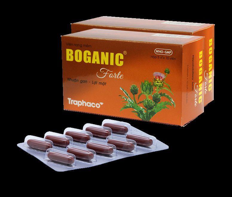 thuốc bổ gan Boganic dạng nang mềm