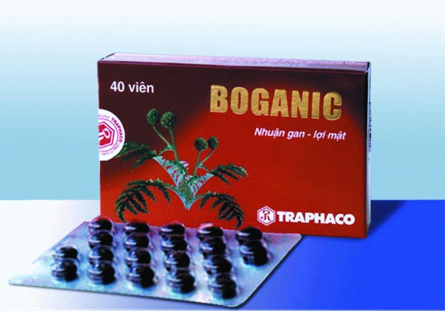 thuốc Boganic dạng bọc đường