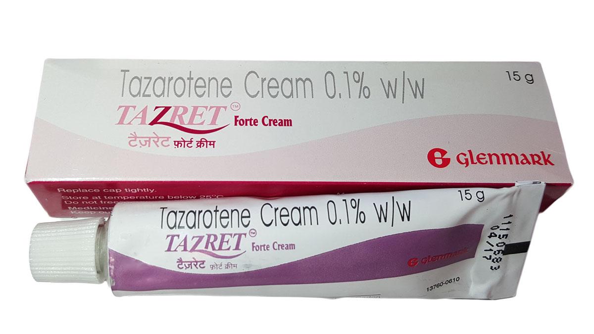 thuốc Tazarotene trị bệnh ngoài da