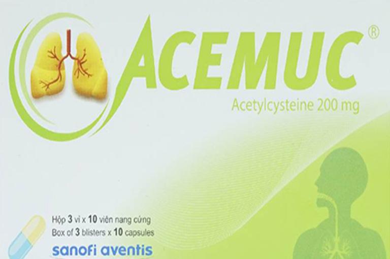 Thuốc trị ho Acemuc