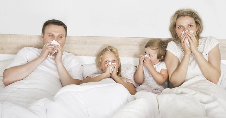 Triệu chứng viêm mũi dị ứng quanh năm