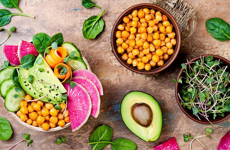 Chế độ dinh dưỡng có thể giúp cải thiện sức khỏe cho làn da