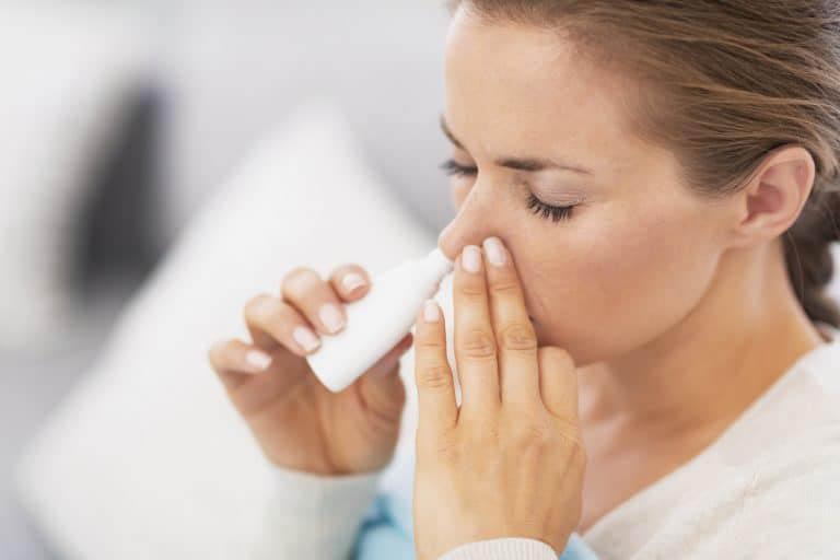 Nhóm thuốc co mạch nhỏ mũi chứa dược chất